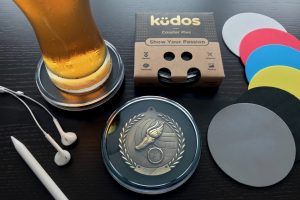 Kudos Coaster Black Desk